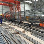 best pris sveiset netting rullemaskin, Forsterkende bur søm sveiser diameter 500-2000mm
