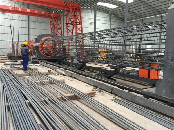 Best pris sveiset wire mesh rulle maskin, Forsterkende bur søm sveiser diameter 500-2000mm