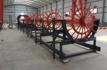 stål pile bur sveise maskin, stål rebar cage gjør maskinen