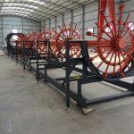 cnc forsterkning haug stål rebar cage sveising gjør maskinen