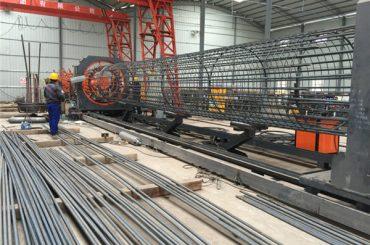 Laget i Kina Enkel betjening Slitesterk og robust kvalitetssikring av stålbearbeidingsboksveisemaskin og forsterkning av boring