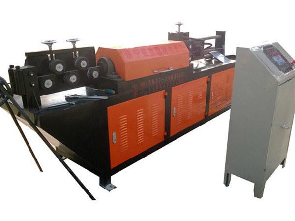automatisk hydraulisk ledning rett og skjære maskin